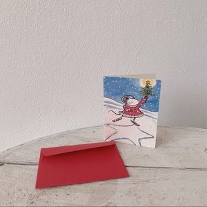 💌 Mini Holiday Card - Art by Kevin Henkes